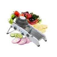 New Adjustable Vegetable Cutter Multifunction Slicer Grater with 304 Stainless Steel Vegetable Peeler for Potato Carrot Dicer