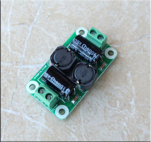 Image 2 - 0 50V 4A DC power supply filter board Class D power amplifier Interference suppression board car EMI Industrial control panel a