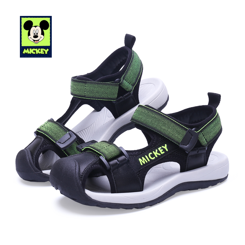 Disney Shoes Sandals For Kid Mickey Shoes Summer Boys Girls Children's Fashion Sandals Shoes Non Slip Shoes For kid Size 26 37