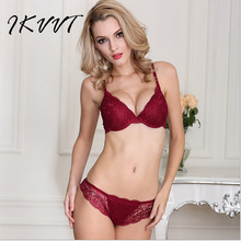 Summer Fashion Sexy Lingerie Lace Bra Set Side Income Bra-Ring Young Women Bra  Gathered To Adjust The Type Of Ladies
