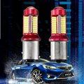 2pca 1156 BA15S 1157 BAY15D 5 W 1200LM 78 LED Canbus Del Coche Bombilla Para Luces de Freno Del Coche Auto Reverse Luz de Circulación Diurna luz