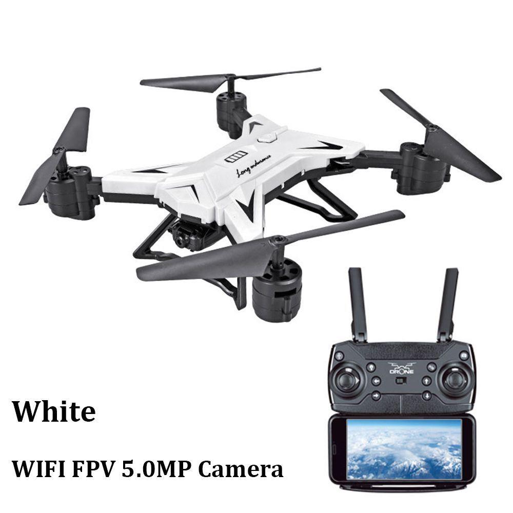 купить White RC Quadcopter Drone With 5MP HD Camera WIFI 6-Axis Foldable Altitude Hold UFO по цене 4003.01 рублей