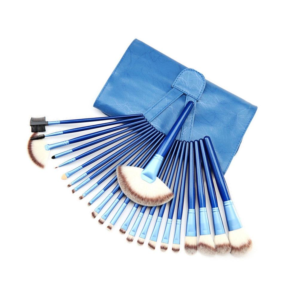 24 шт., набор профессиональных кистей для макияжа, набор кистей для макияжа, лучшее качество, Инструменты кабуки, pinceis de maquiagem - 2