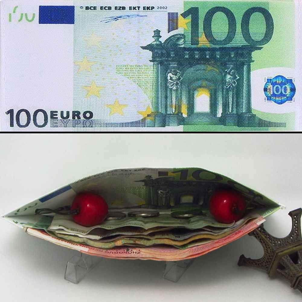 Carteira unissex, carteira com estampa de dinheiro, masculina, feminina, unissex, dólar, carteira, chique, notas de moeda, imperdível