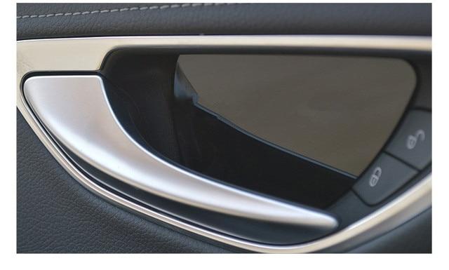 Nice Angelguoguo For Mercedes Benz W205 Inner Door Handle Cover Bowl Fit For  2015 Mercedes Benz C