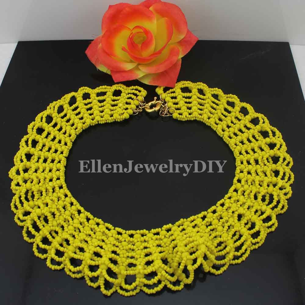 Christmas New Yellow Crystal Beads Jewelry Sets Handmade Weaved Chunky Beaded Indian Bridal Jewelry Sets Free Shipping W13821Christmas New Yellow Crystal Beads Jewelry Sets Handmade Weaved Chunky Beaded Indian Bridal Jewelry Sets Free Shipping W13821