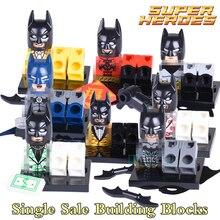 Building Blocks Batman Avengers Marvel DC Classic Figures Star Wars Movie Super Heroes Action Bricks Kids DIY Toys Hobbies X0133