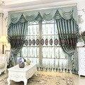 Высокое качество  Геометрическая вышитая домашняя вилла  декор для отеля  занавески для гостиной  спальни  тюль  занавески  обработка окон