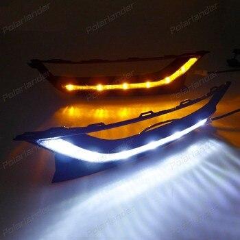 for V/olkswagen New Pa/ssat 2011-2015 auto part daytime running Light car-styling Fog Lamp