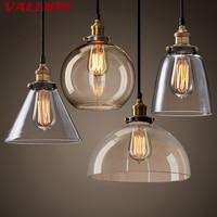 Vintage Pendant Light Retro Glass Hanging lamp Russia Loft Luminaire Kitchen Dining Bedroom Pendant Lamp E27 Lampholder Lights