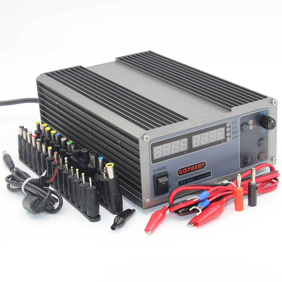 CPS-3232 1000W 0-32V/0-32A,High power Digital Adjustable DC Power Supply Switching power supply cps 6011 60v 11a digital adjustable dc power supply laboratory power supply cps6011