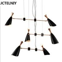 Delightfull Duke Nordic Designers Modern Creative Villa Compound Floor Of Sitting Room Led Chandelier 6 Lamps