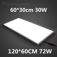 Flat LED panel liamp ceiling light SMD2835 18W/30W/48W 600*600mm high brightness School/Hospital/Super market/Office/Hotel light