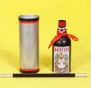 Canne soie et bouteille tours de magie incroyable scène magique soie disparaître bouteille apparaissent de Tube vide Magia mentalisme accessoires de Gimmick - 3