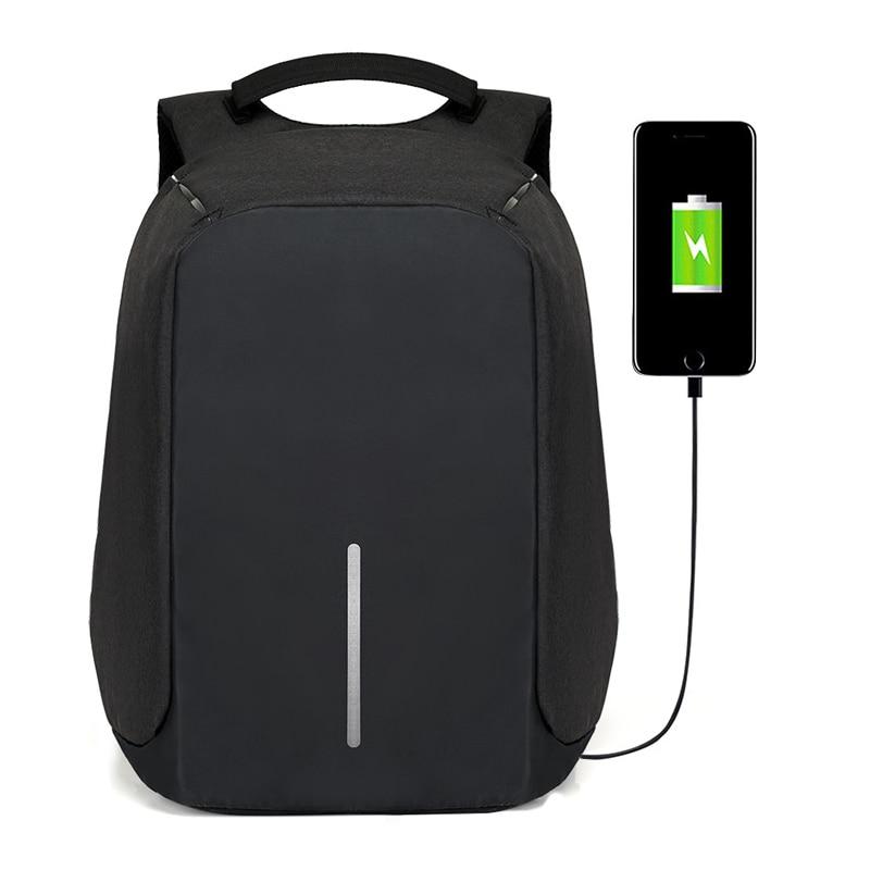 Anti Theft Multifunctional Backpack Fashion USB-charging 15inch Laptop Backpacks Male Teenager Travel Bag Waterproof Schoolbag new design light slim backpack men lightweight 15 inch laptop notebook backpacks women waterproof business anti theft backpack