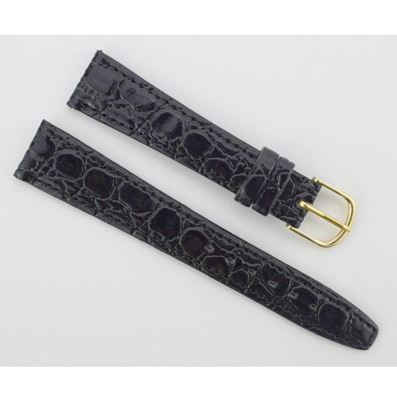 Women Watch Bands 18mm Soft Sweatband Leather Watch Strap Steel Buckle Wrist Bands For Watch