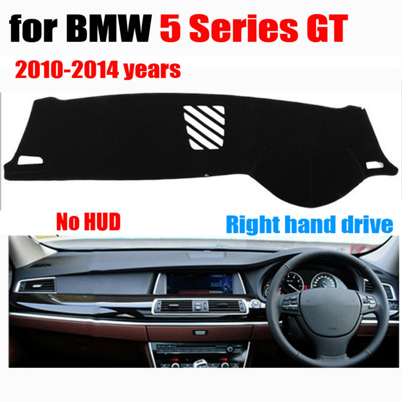 font b Car b font dashboard covers for BMW 5 Series GT Low configuration 2010
