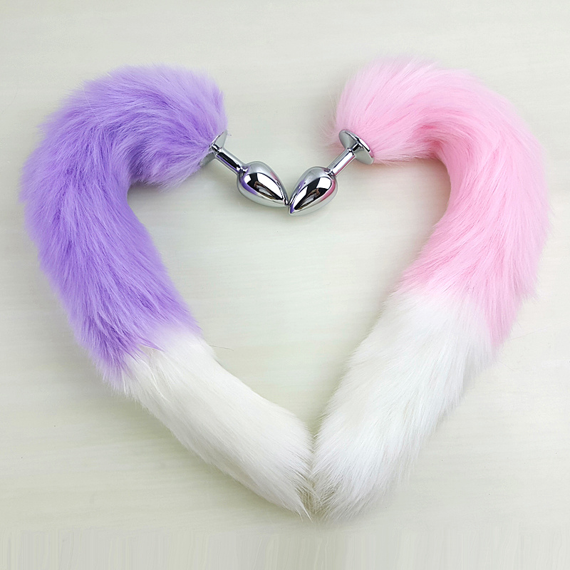 Fox Tail Butt Plugs 3 Colors-9103