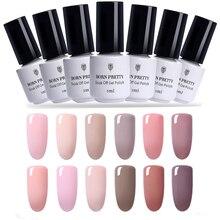 BORN PRETTY 5ml Soak Off LED UV Nail Gel Polish  Series Long Lasting Lacquer DIY Varnish Manicure