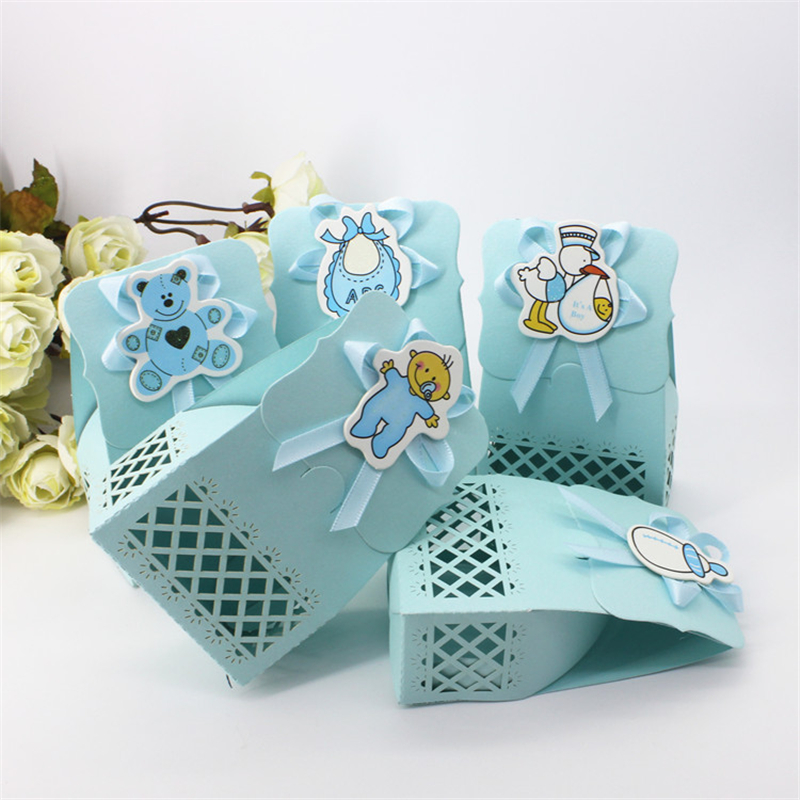 Cute baby shower event party supplies decoration boy paper for Baby shower decoration kits boy