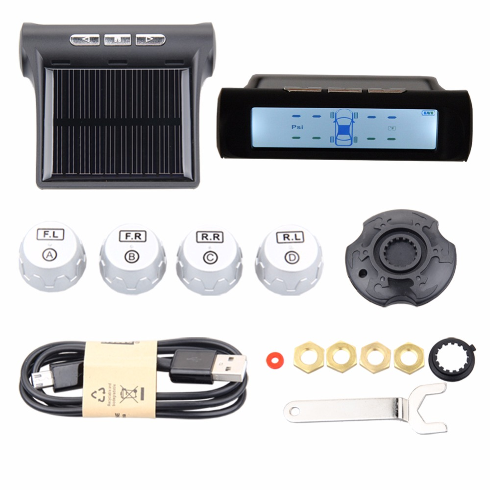 Easyguard car TPMS tire pressure monitoring system 4 external sensor reduce tire wear tire pressure balance support PSl or BAR universal hotaudio dasaita built in tpms car tire pressure monitoring system car tire diagnostic tool with mini inner sensor