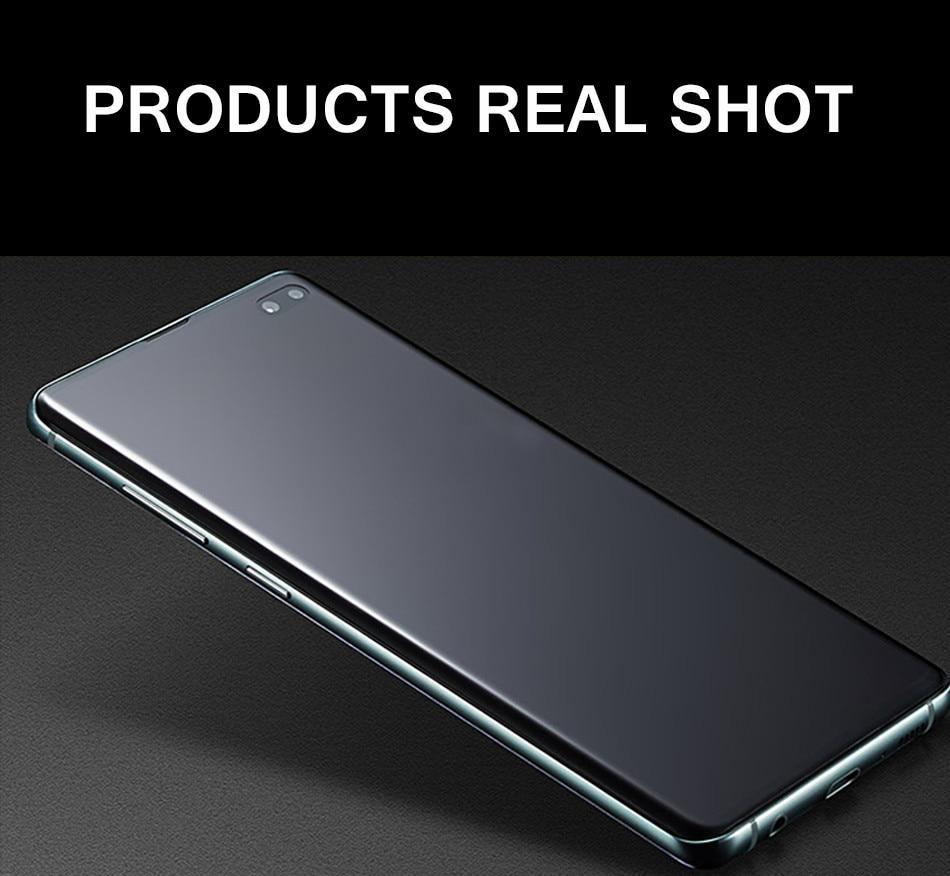 Vothoon واقي للشاشة لسامسونج غالاكسي S10e S10 زائد S7 S8 s9 Plus نوت 8 9 10 زائد غطاء كامل شاشة واقية وليس الزجاج