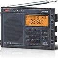 Original Tecsun pl-600 pl600 FM portátil radio fm Estéreo am fm sw mw pll todas las bandas receptor de radio tecsun digital Envío Gratis