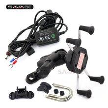 Phone Holder For KTM 990 SUPER DUKE Adventure 950 1050 1190 1290 Motorcycle Accessories Navigation Frame Bracket With USB Port