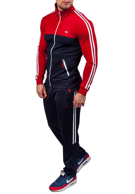 ZOGAA 春秋のメンズトラックスーツ男性カジュアル 2 個セット男性ファッションジャケットとスポーツパンツセット男性カジュアルスポーツスーツ 2019 新