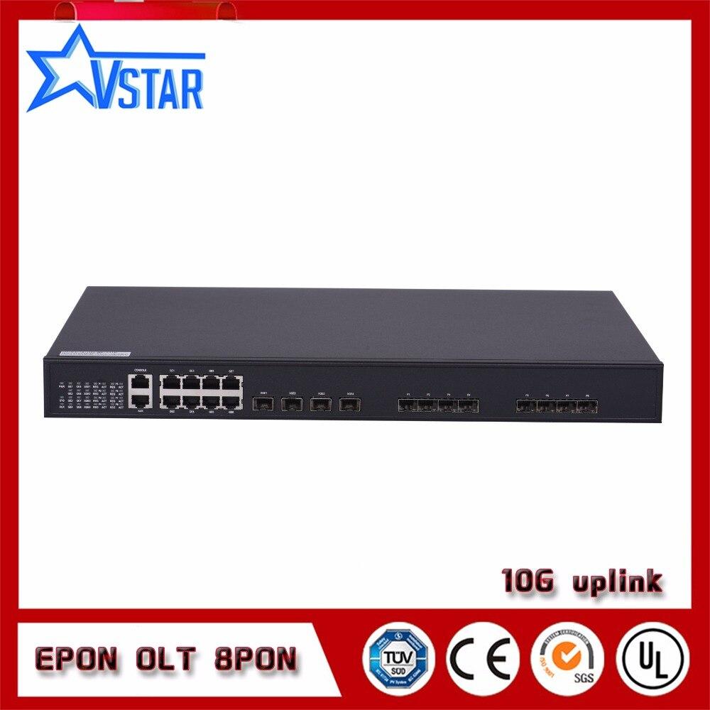 10G EPON OLT 8 ports avec modules SFP10G EPON OLT 8 ports avec modules SFP