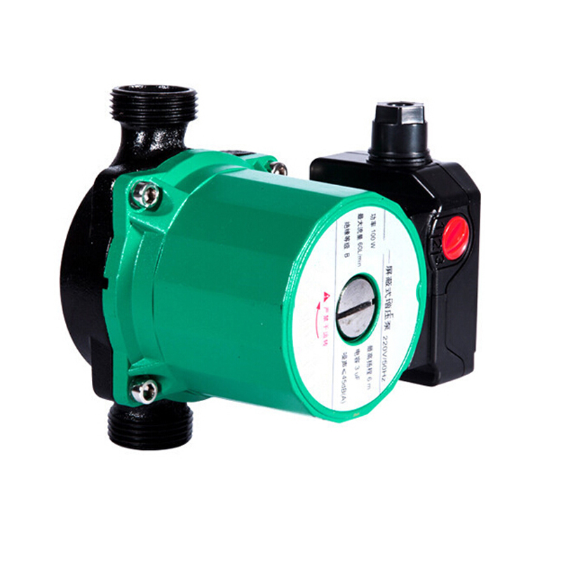 pressure booster water pump mini hot water pressure booster pump 80W booster pump brushless for Floor Heating System 100w 220v shower booster water pump
