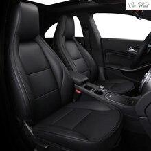 Автомобиль ветер Пользовательские натуральная кожа сиденья для Mercedes-Benz cla200 a180 gla220 a200 a260 GLC260 E300L C200L автомобильные аксессуары