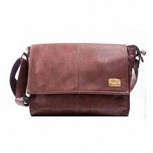 Дизайнерские сумки мужская 14 дюймов ноутбук искусственная кожа мужчины школьные сумки отдыха сумки бесплатная доставка