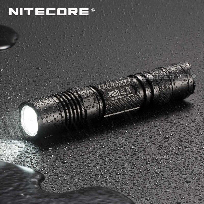 Image 5 - Fabryka cena NITECORE P10GT CREE XP L HI V3 LED 900 lumenów lekka i przenośna latarka policyjna z obsługą jedną rękąpolice flashlightcree xp-lcree xp-l hi -