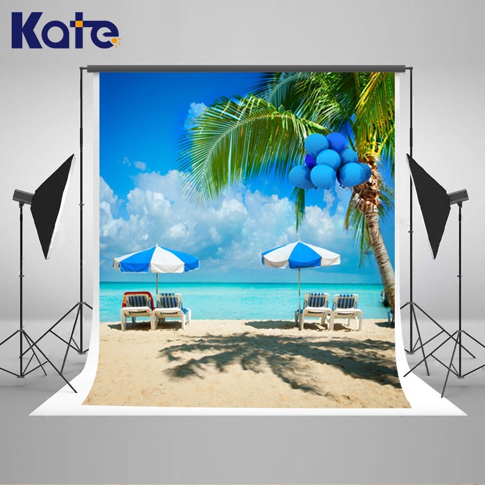 5 * 6.5FT Kate Seascape pozadí Vinilos pozadí Foto kulisy pro fotografie Seabeach fotografie pozadí Hot 2016