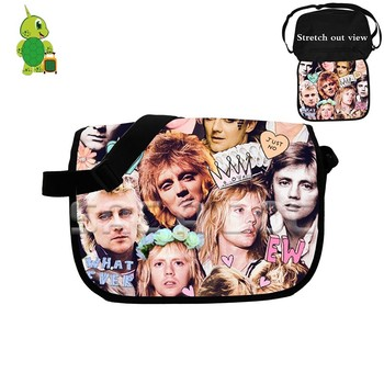 Roger Taylor Rock Star Collages Messenger Bag Women Men Crossbody Handbag Boys Girls School Shoulder Bags Fans Gift shoulder bag