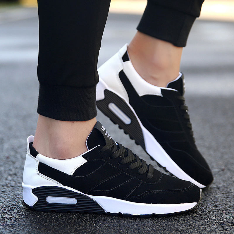 2019 spring tide shoes breathable sneakers casual trend male angry pad students running wild men 39 s men 39 s shoes in Men 39 s Casual Shoes from Shoes