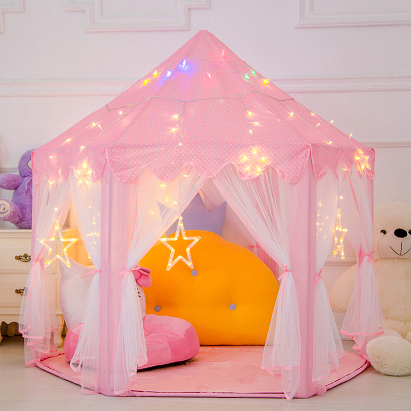 Portable Princess Castle Play Toy Tent Children Activity