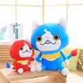 Япония Аниме Мультфильм большой размер Плюшевые Куклы youkai часы Jibanyan Cat Рождественские Подарки для Детей Игрушки