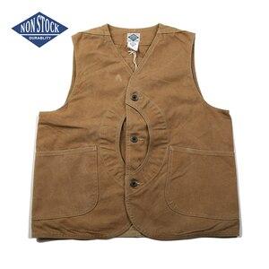 Image 1 - NON STOCK Duck Canvas Game Pocket Vest Vintage Outdoor Mens Hunting Jacket