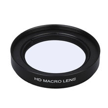 Junestar 58MM 16x Shut-up Macro Lens Filter for Camcorder Gopro Hero 5 four three+ Motion Digicam Spare Components