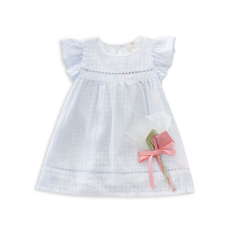 Retail Brand Summer lace cute baby dress Party Wedding