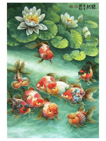 Achetez en gros chinois peinture poisson rouge en ligne for Arts martiaux chinois liste
