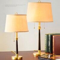 Скандинасветодиодный вские светодиодные настольные лампы для спальни прикроватное освещение настольная лампа светодиодный Светодиодная