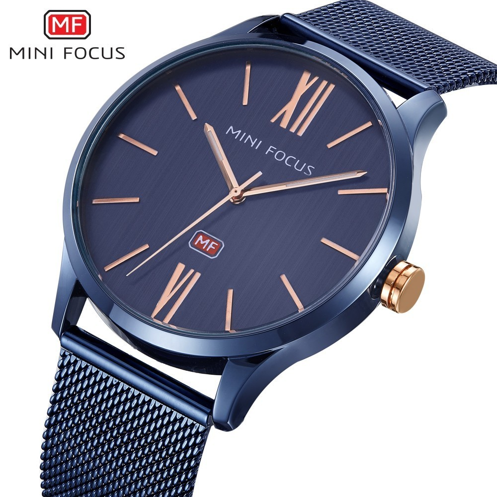 MINI FOCUS Famous Wristwatch Mens Watches Top Brand Luxury Male Clock Quartz Men Relogio Masculino