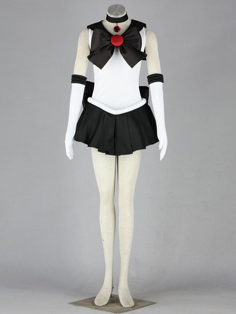 Halloween Wig Hair Cosplay Costume Sailor Moon Sailor Pluto Green long Woman