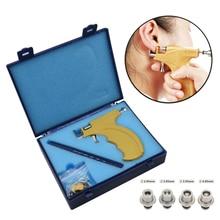 Профессиональный ухо серьга-гвоздик для пирсинга пистолет набор инструментов для пирсинга пистолет набор