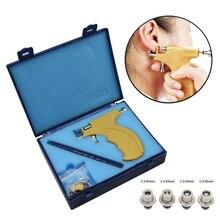 Professional Ear Studต่างหูเจาะชุดเครื่องมือคุณภาพสูงReusable Earlobeกระดูกอ่อนBodyเจาะชุด