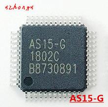 5PCS/LOT AS15-F AS15F AS15-G AS15G QFP48 AS15 Original LCD chip E-CMOS free shipping 5pcs lot rtl8211cl qfp48 pin card new original