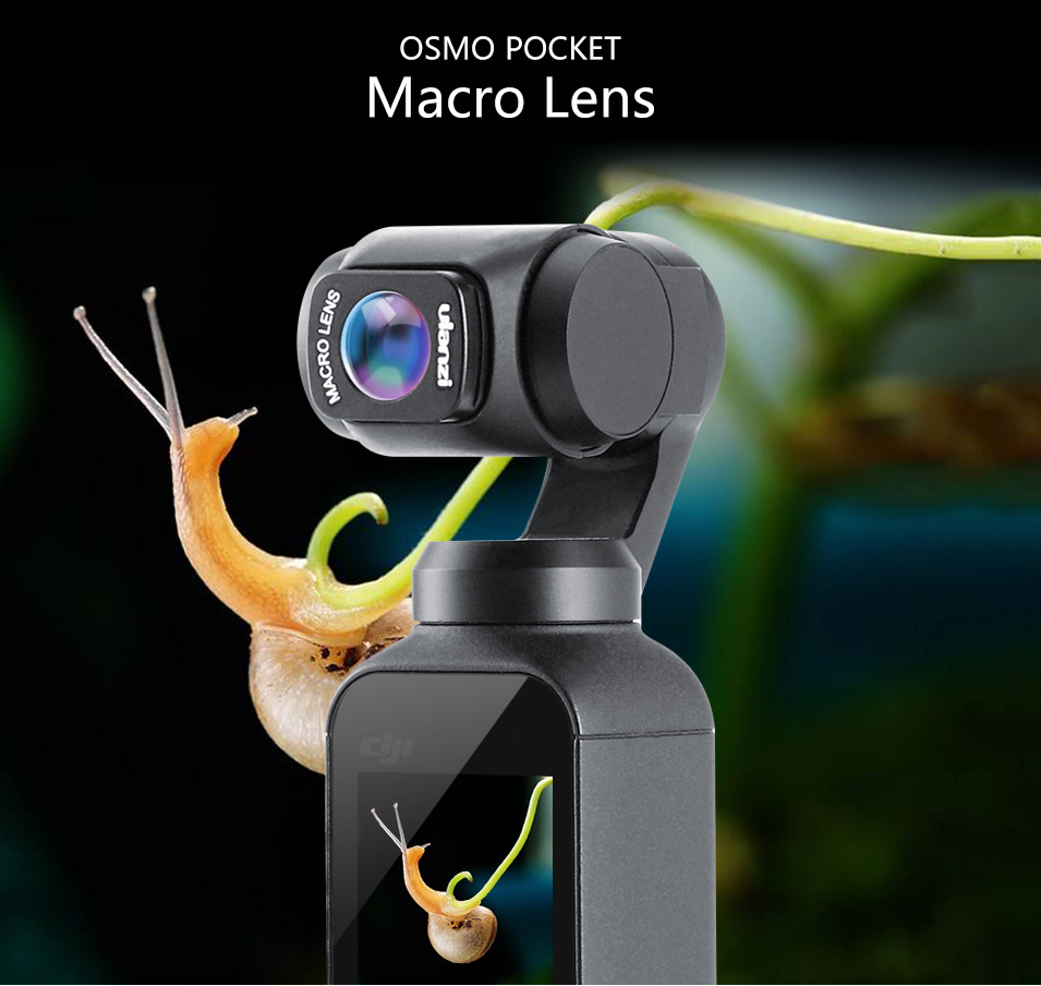 macro lens for dji osmo pocket